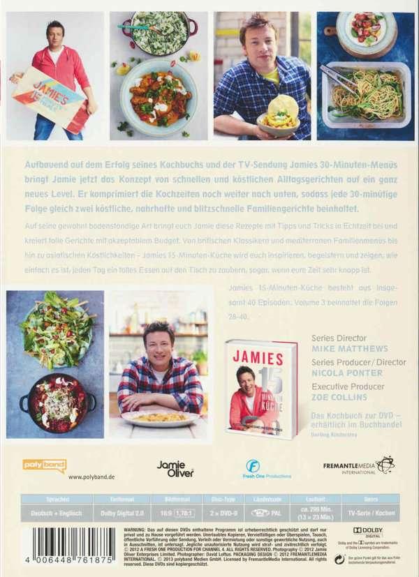 Jamies 15 Minuten Küche | Jamie Oliver Jamies 15 Minuten Kuche Vol 3 2 Dvds Jpc