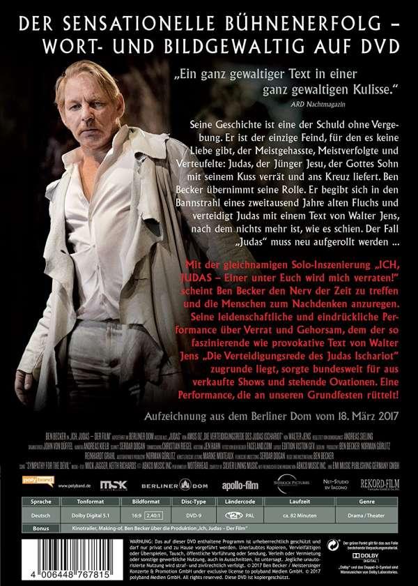 Ben Becker: Ich, Judas Der Film