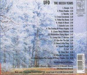 Ufo The Decca Years Cd Jpc