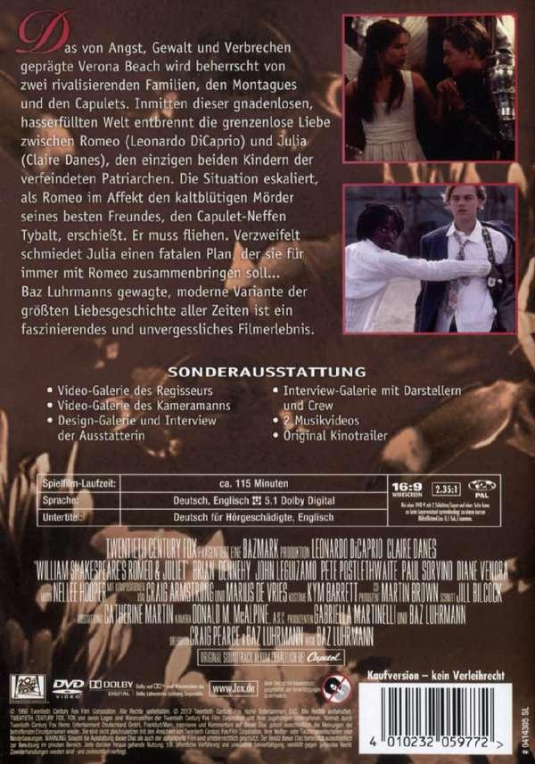 Romeo Und Julia Dvd