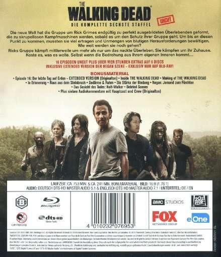 The Walking Dead Staffel 6 Blu Ray Jpc