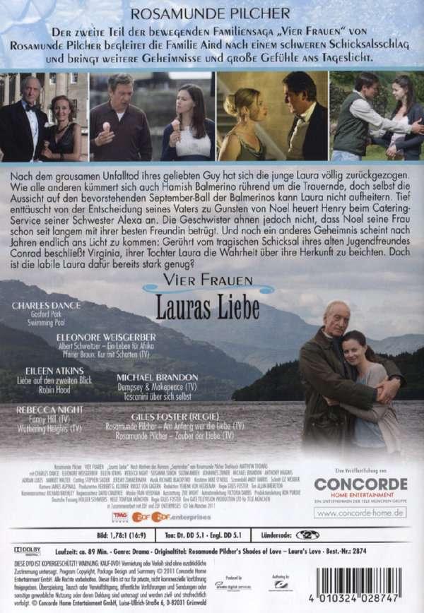 Rosamunde Pilcher Vier Frauen Lauras Liebe Dvd Jpc