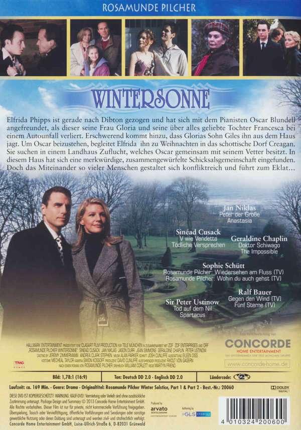 Rosamunde Pilcher Wintersonne Teil 1 2 Dvd Jpc