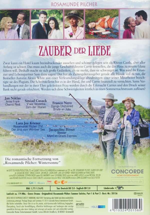 Rosamunde Pilcher Zauber Der Liebe Dvd Jpc
