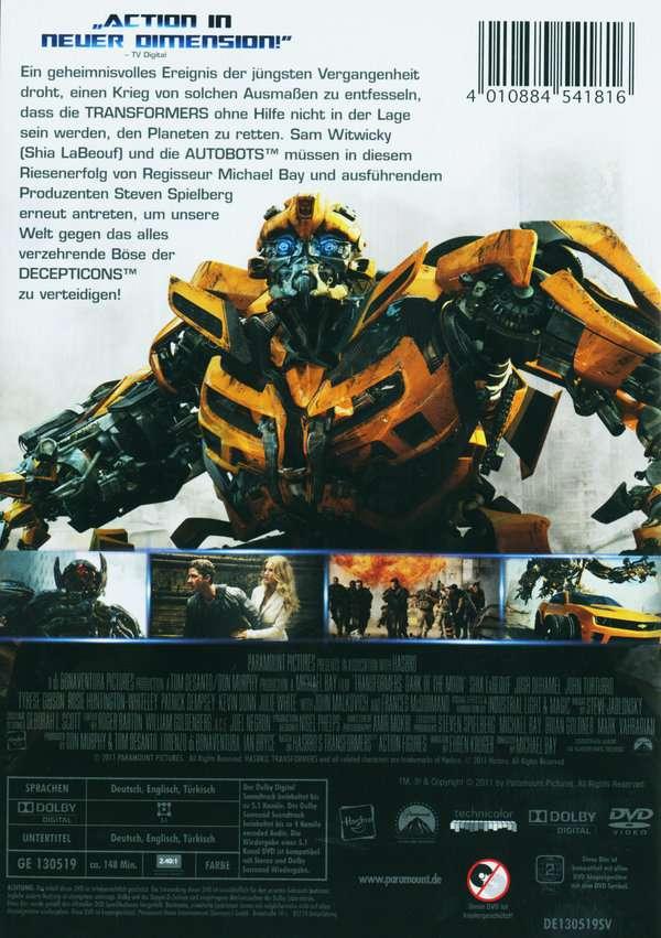 Transformers 3 Die Dunkle Seite Des Mondes Stream