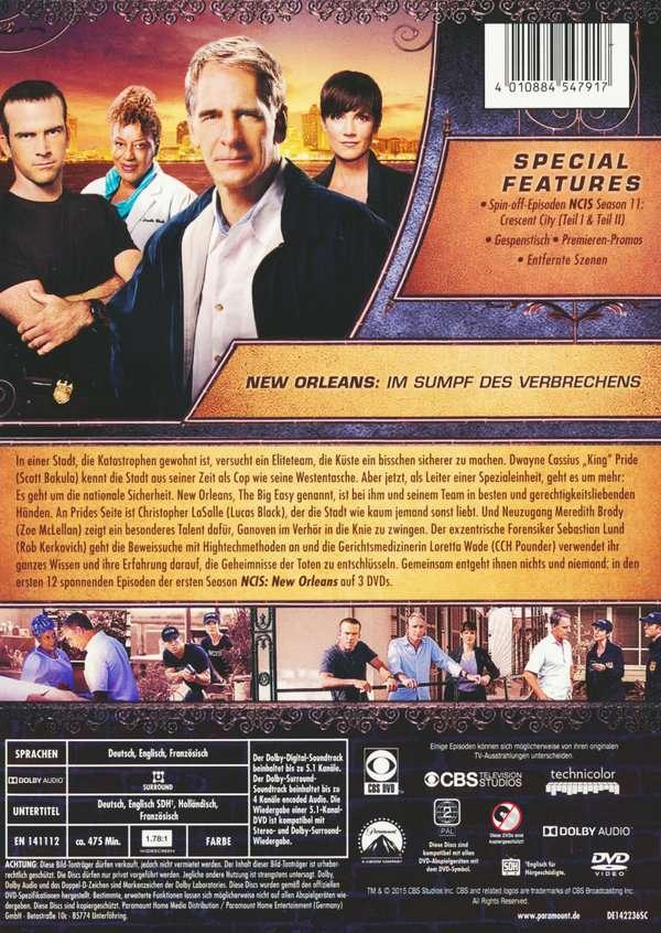 Navy Cis Dvd Box