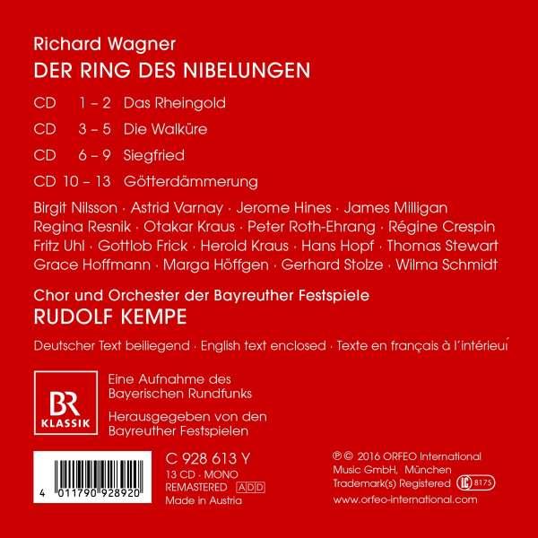 Richard Wagner Der Ring Des Nibelungen