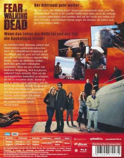 Fear The Walking Dead Staffel 2 Release