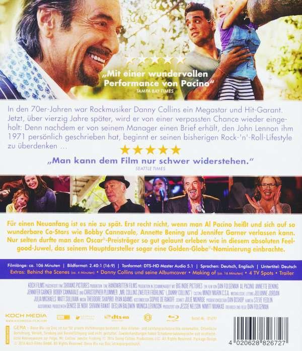 Mr Collins Zweiter Frühling Blu Ray Jpc