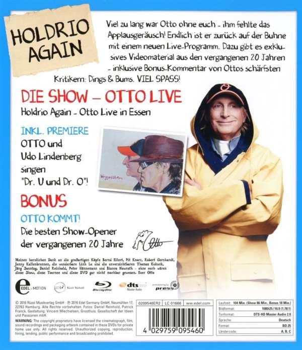 Otto Holdrio Again