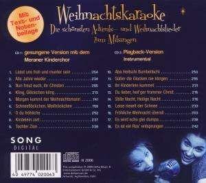 meraner kinderchor weihnachts karaoke 2 cds jpc. Black Bedroom Furniture Sets. Home Design Ideas