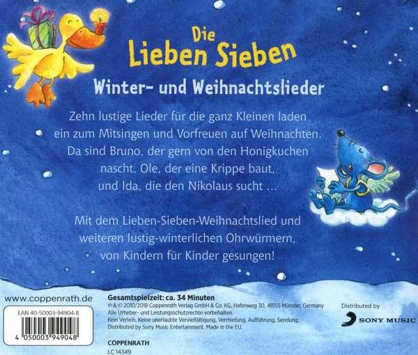 Weihnachtslieder Cd.Winter Und Weihnachtslieder