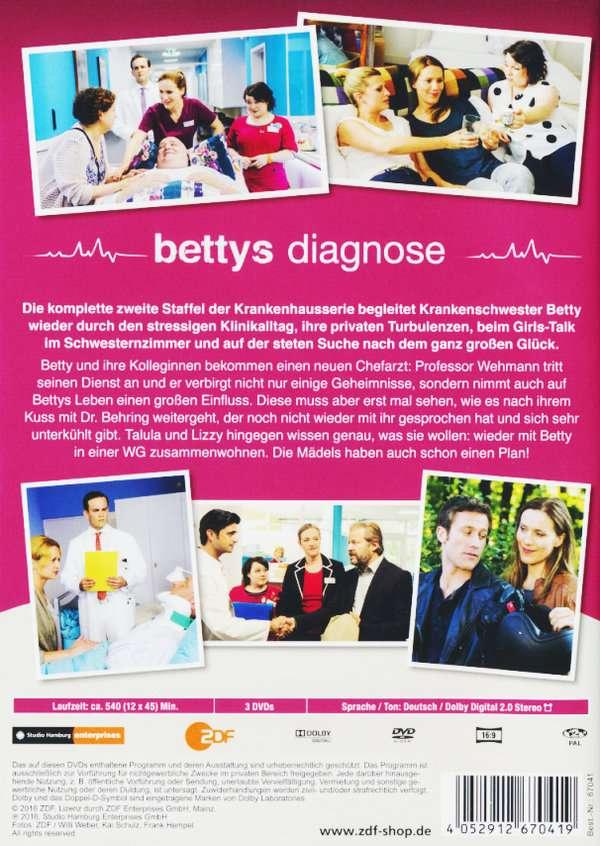 Bettys diagnose staffel 2 3 dvds jpc for Bettys diagnose