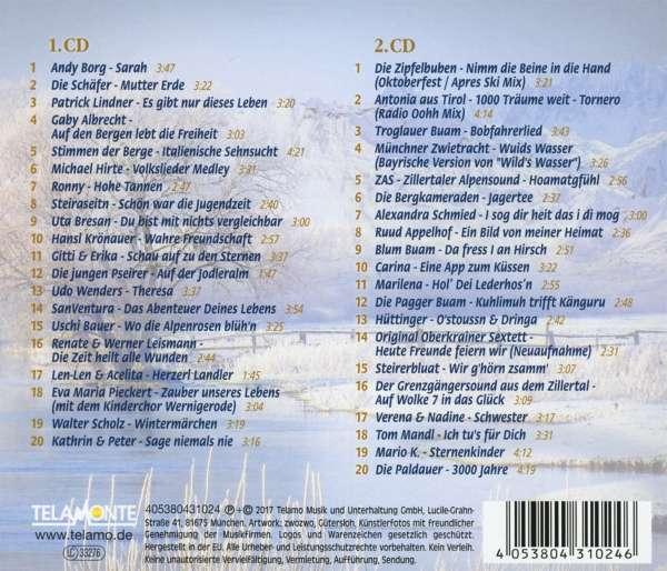 Foyer Des Arts Hitparade : Die volkstümliche hitparade winter cds jpc