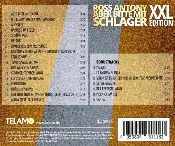 Ross Antony Aber Bitte Mit Schlager Xxl Edition Cd Jpc