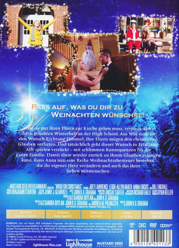Wish for Christmas (DVD) – jpc