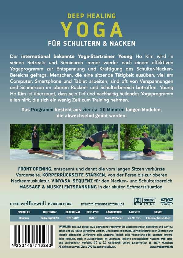 Deep Healing YOGA Back Care - YOGA für Schulter und Nacken (DVD) – jpc