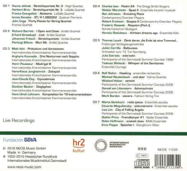Darmstadt aural documents box 3 ensembles 7 cds jpc for Darmstadt aural documents box 3