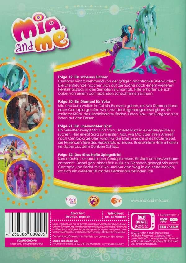 Mia And Me Staffel 3 Vol 7 Auf Der Suche Nach Dem Schüchternen Einhorn