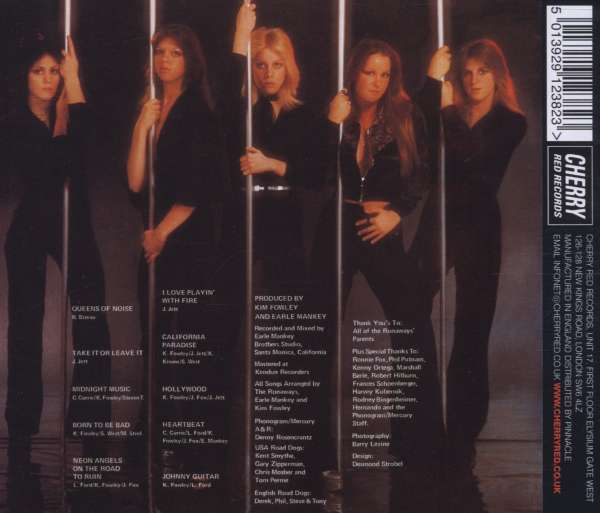 The Runaways Queens Of Noise Cd Jpc