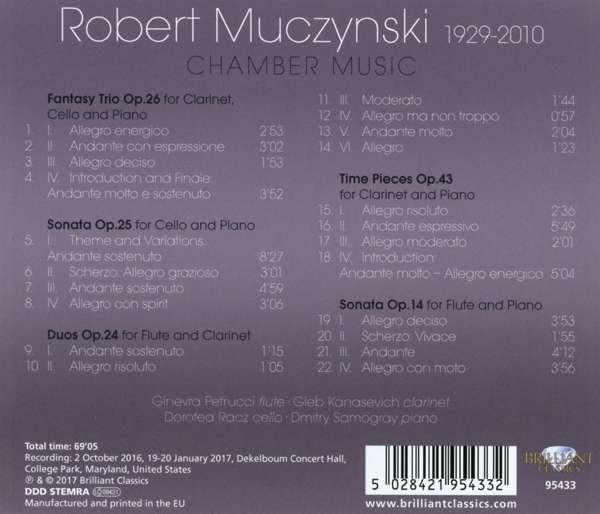 robert muczynski time pieces