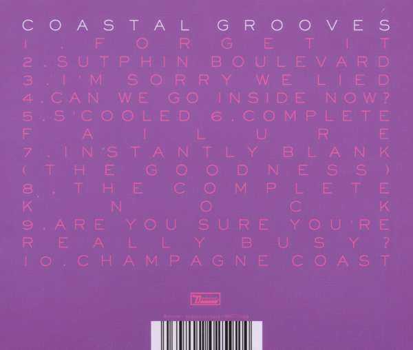 Blood Orange Coastal Grooves Cd Jpc