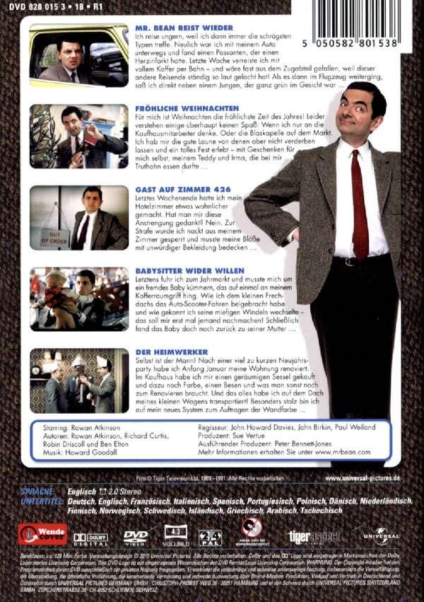 Mr Bean Frohe Weihnachten.Mr Bean Die Komplette Tv Serie Omu Vol 2