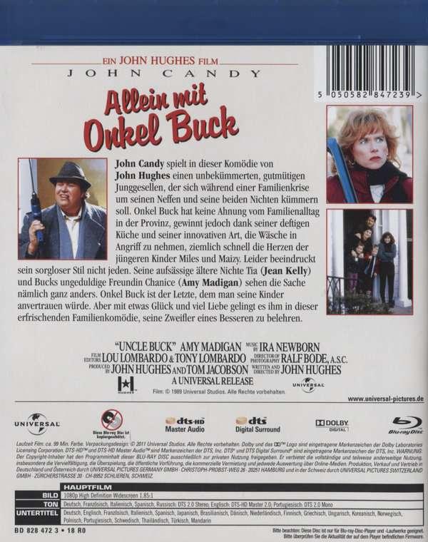 Allein Mit Onkel Buck Besetzung