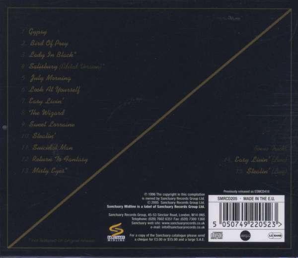 Uriah Heep The Best Part 1 Cd Jpc
