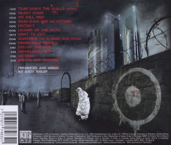Arch Enemy Anthems Of Rebellion Cd Jpc