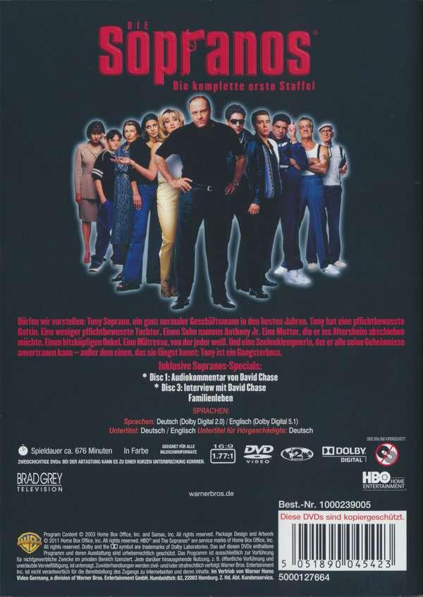 Sopranos Staffel 1