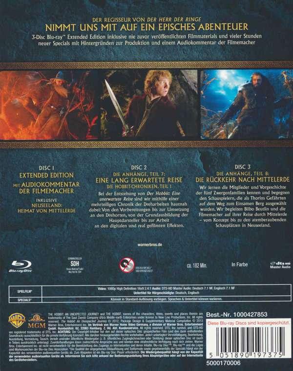 Hobbit Eine Unerwartete Reise Extended