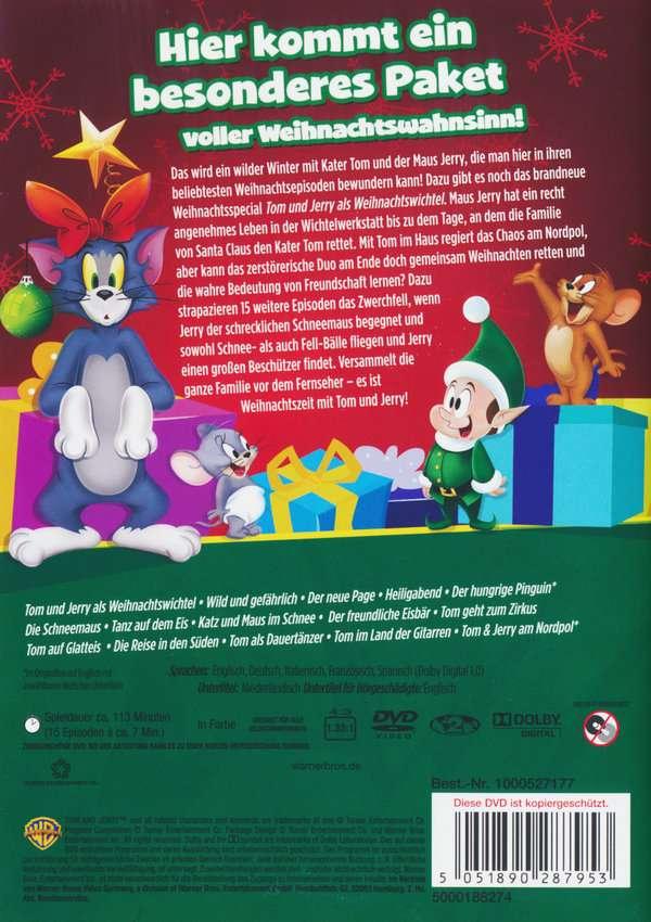 Tom & Jerry als Weihnachtswichtel