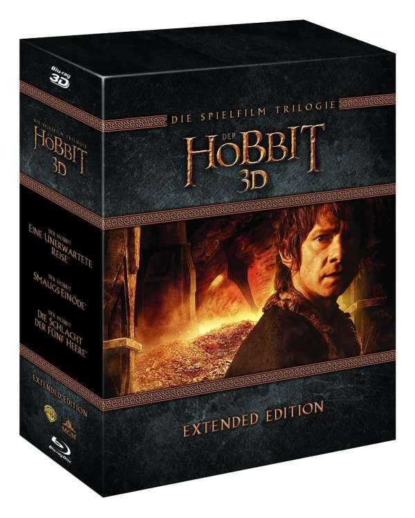 Der Hobbit Die Trilogie Extended Edition 3d 2d Blu Ray Jpc