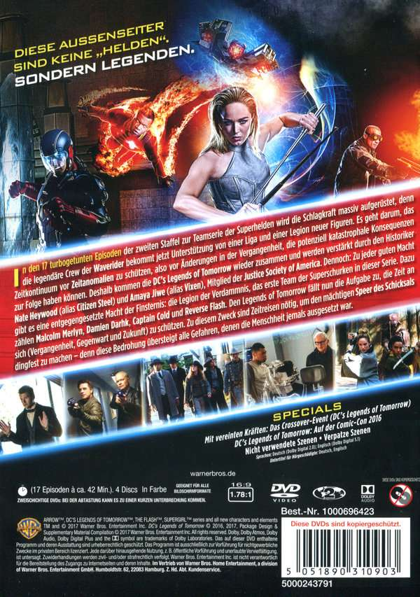Legends Of Tomorrow Staffel 2