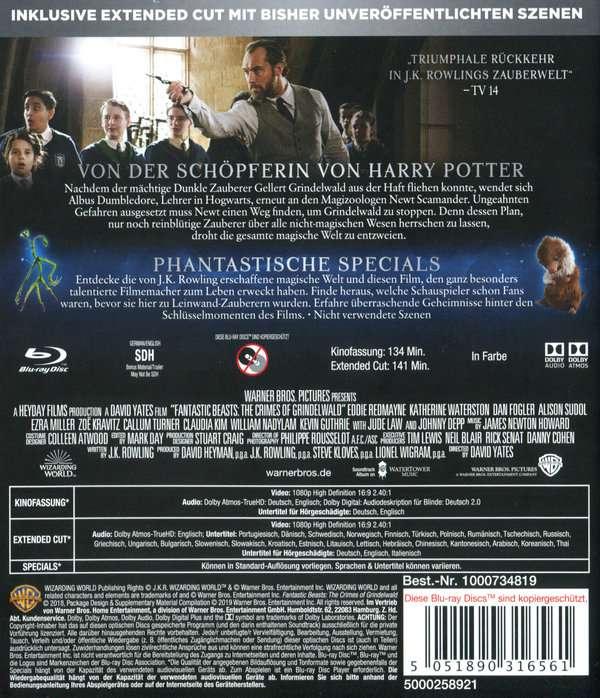 Dvd Grindelwalds Verbrechen