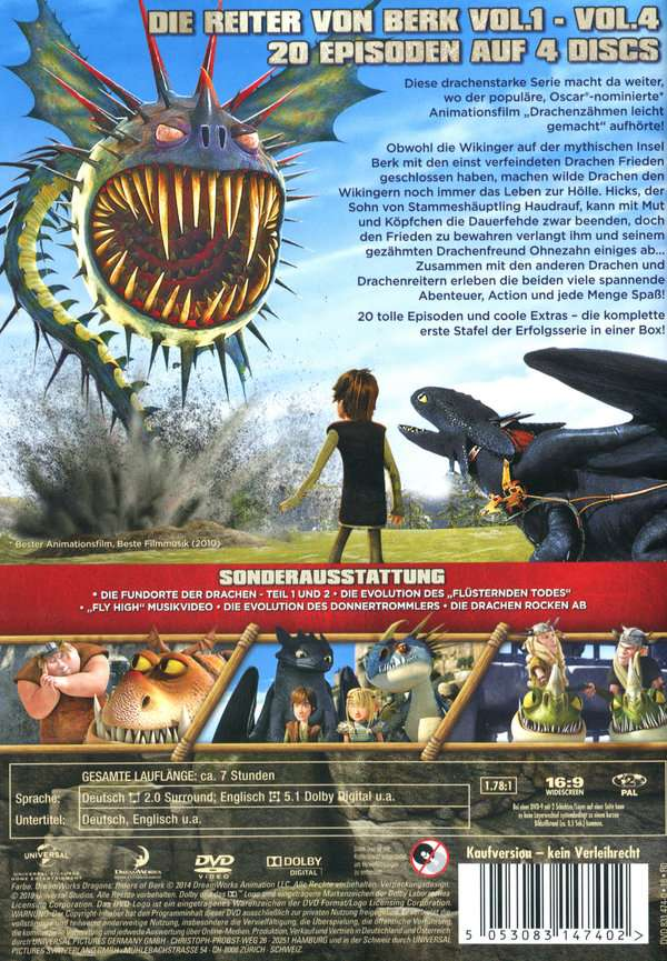 Dragons Staffel 3 Dvd