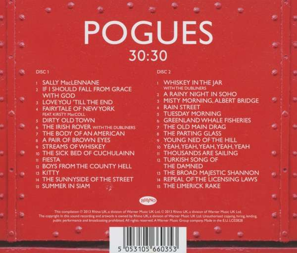The Pogues 30 30 The Essential Collection 2 Cds Jpc