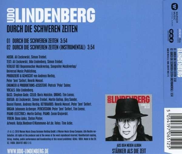 udo lindenberg single durch die schweren zeiten