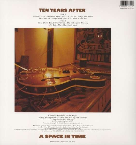 Ten Years After A Space In Time Lp Dvd Audio Lp Jpc