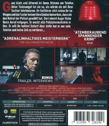 The Guilty Blu Ray Jpc