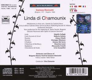 Gaetano Donizetti Linda Di Chamonix 3 Cds Jpc