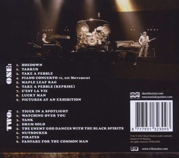Emerson Lake Amp Palmer Live At Nassau Coliseum 78 2 Cds