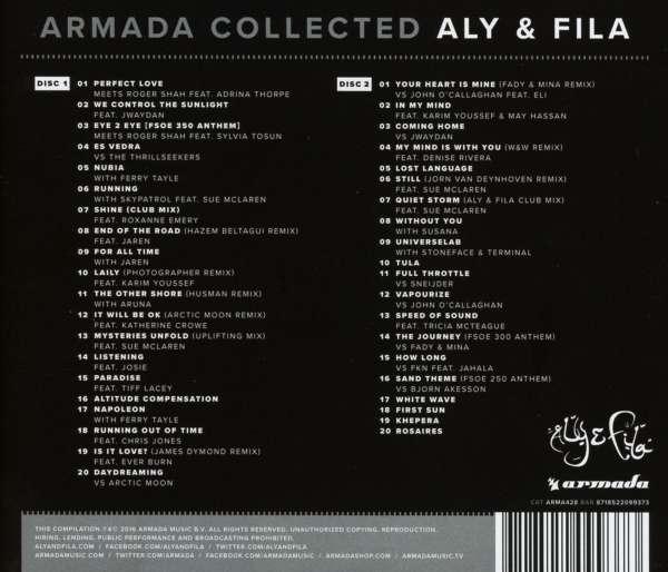 aly & fila: armada collected (2 cds) – jpc