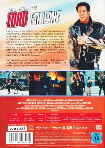 The Adventures Of Ford Fairlane Blu Ray Amp Dvd Im