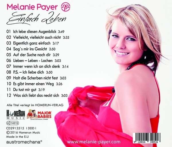 Melanie payer einfach leben cd jpc for Einfach leben