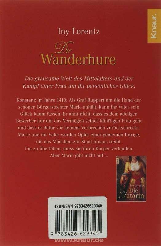 Die Wanderhure Buch