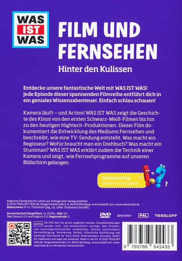 Was ist was: Film und Fernsehen (DVD) – jpc